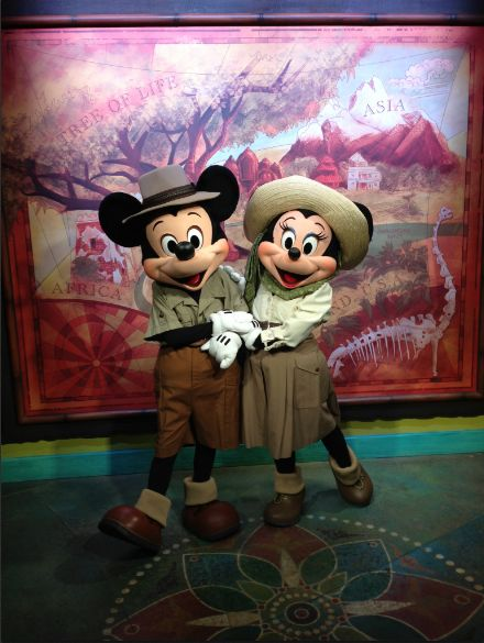 The Frog Family Journey Begins With Mickey And Minnie At