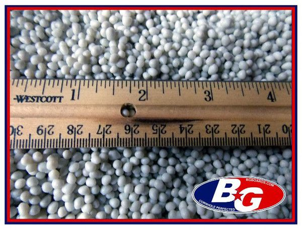 16 POUND BOX OF HEAVY PLASTIC PELLETS for cornhole bags and other craft projects - BG Boards and Graphics LLC