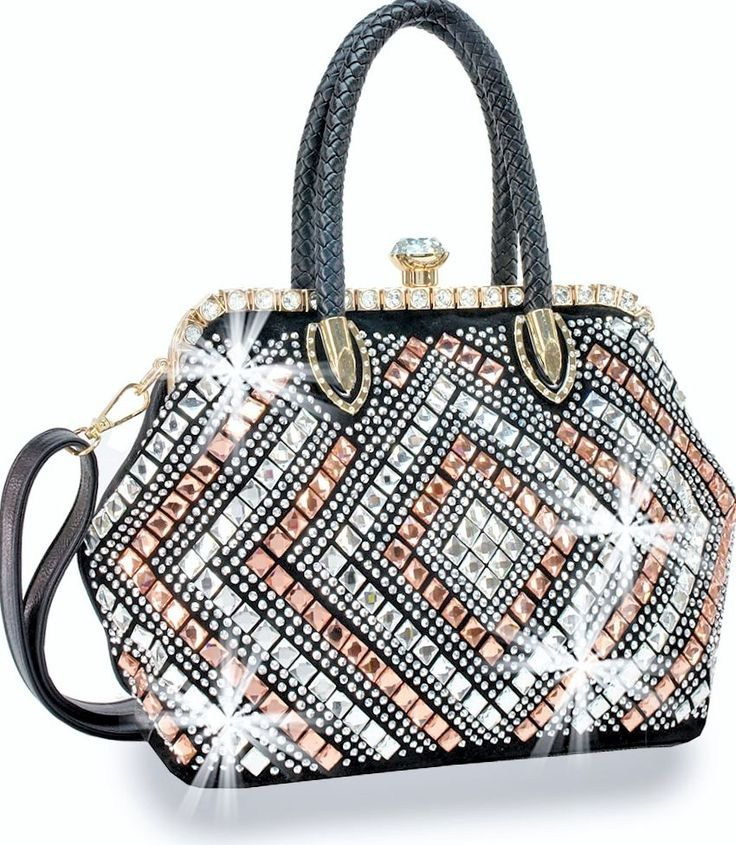 Conosciuto 62 best Handbags & Wallets (Bling Bags) images on Pinterest  PL03