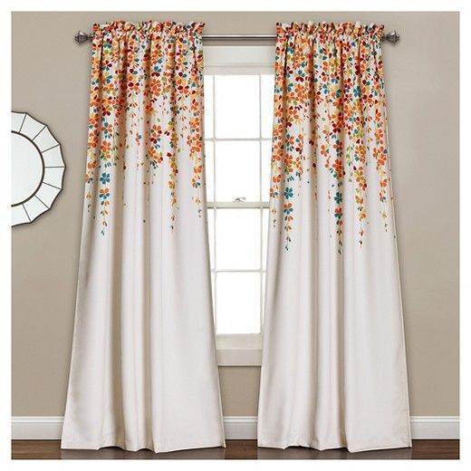 these curtains are giving me life. target, you've done it again.