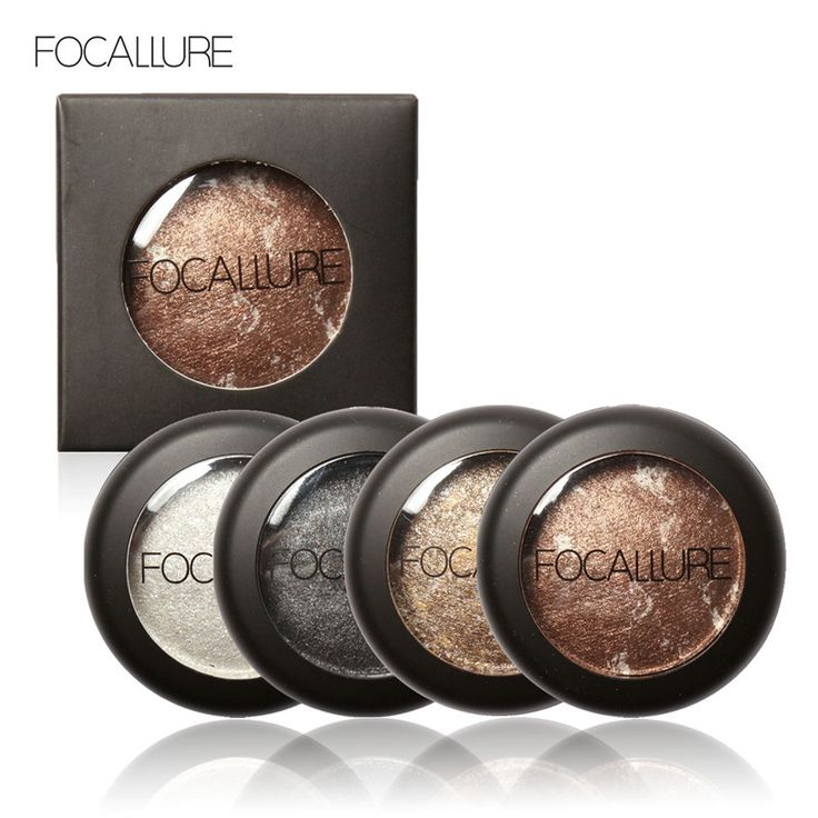 10 Colors Baked Eyeshadow Eye shadow Palette in Shimmer Metallic Eyes Makeup by Focallure -- This is an AliExpress affiliate pin.  Item can be found  on AliExpress website by clicking the image