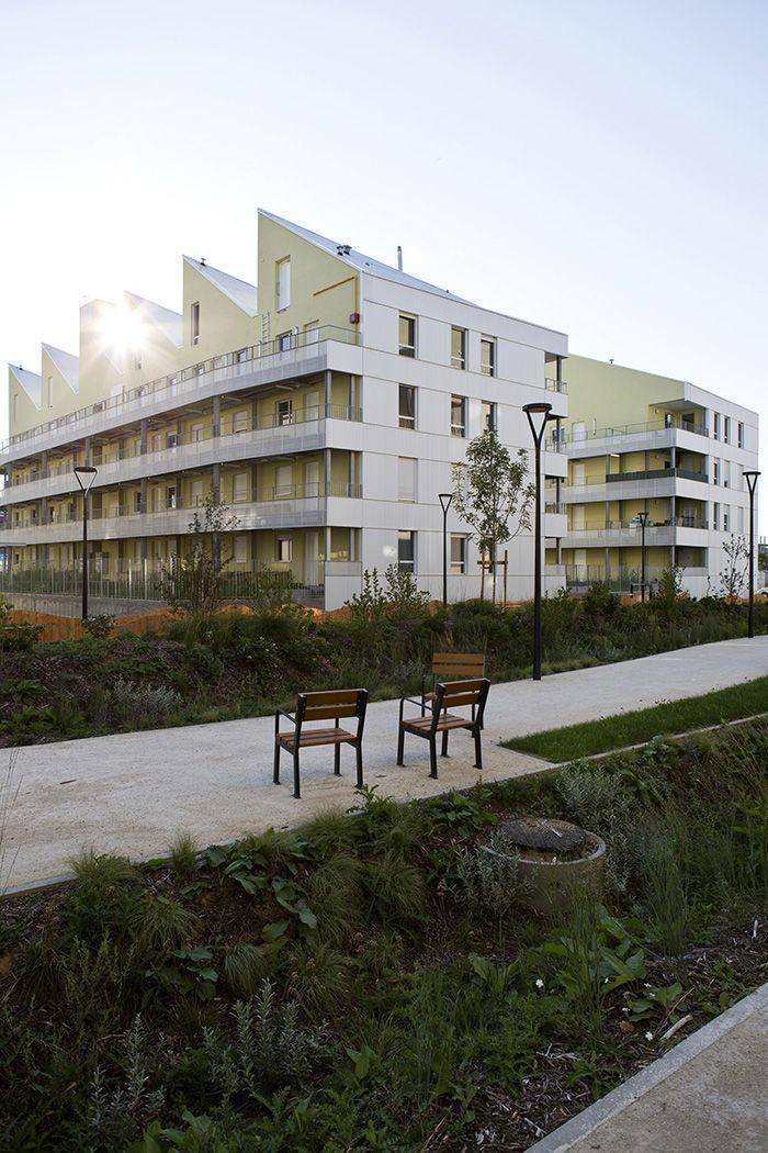 43 logements sociaux à Saint-Denis / PARC Architectes ©Thomas Lang - PARC Architectes