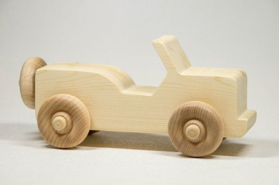 Wooden Toy Car Personalized Toddler Toy by littlewoodenwonders