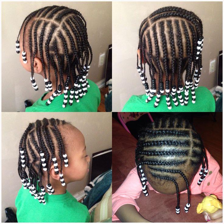 Kids braids and beads