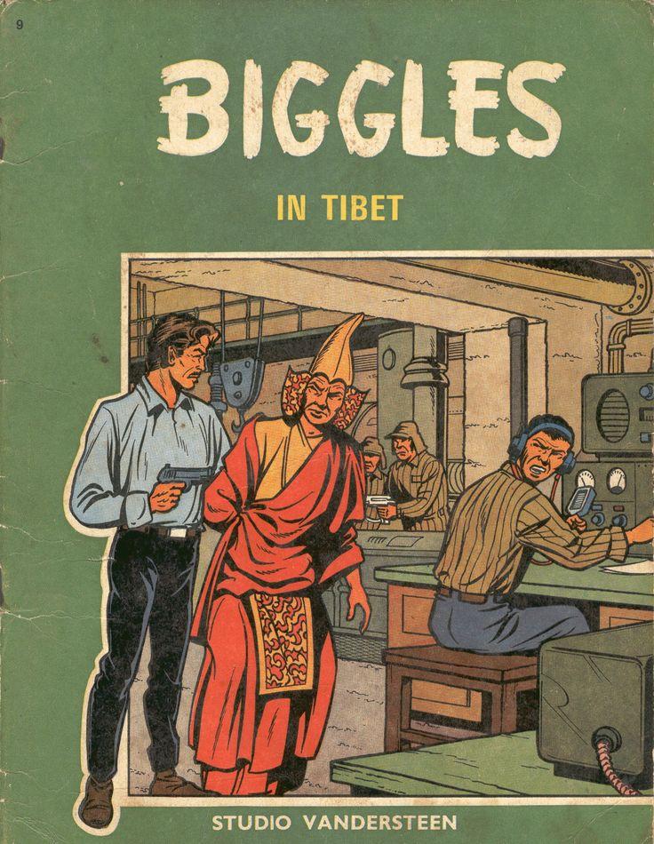 Een van de vele reeksen van Studio Vandersteen. En ook gebaseerd op een boekenreeks. Ik heb slechts een paar Biggles boeken en het is best jammer dat ze nooit een ingekleurde herdruk hebben gekregen. Prima verhalen.