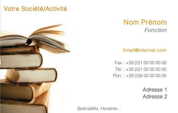 cv libraire modele