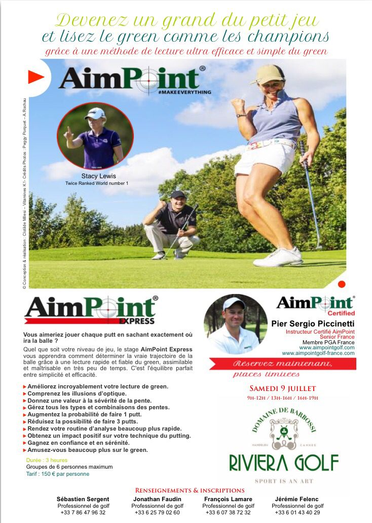Journée AIM Point  2S golf riviera golf Barbossi  9 JUILLET 2016
