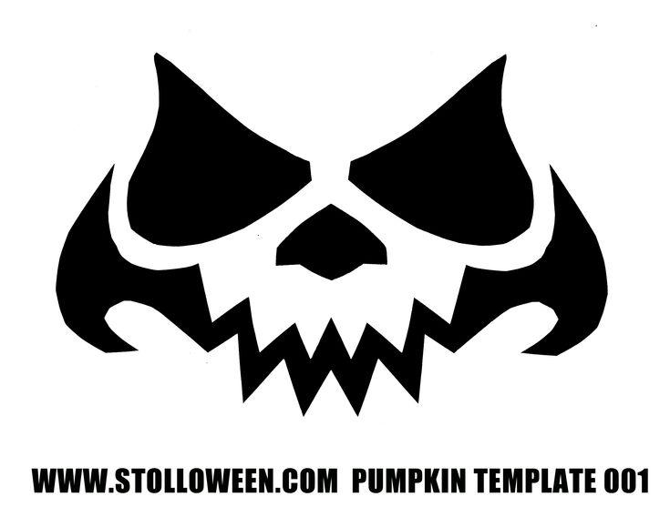 evil pumpkin face template - 322 best halloween silhouettes images on pinterest