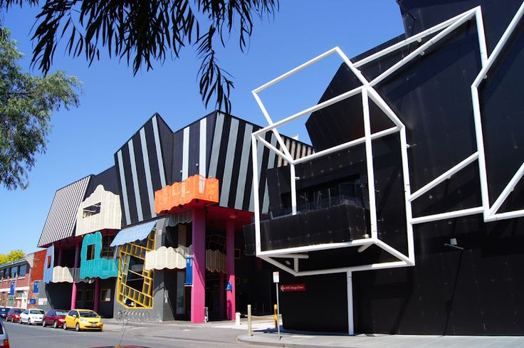 28 Dodds Street, #Southbank. School of Performing Arts, University of #Melbourne (#Victorian #College of the Arts) Performing Arts Centre.
