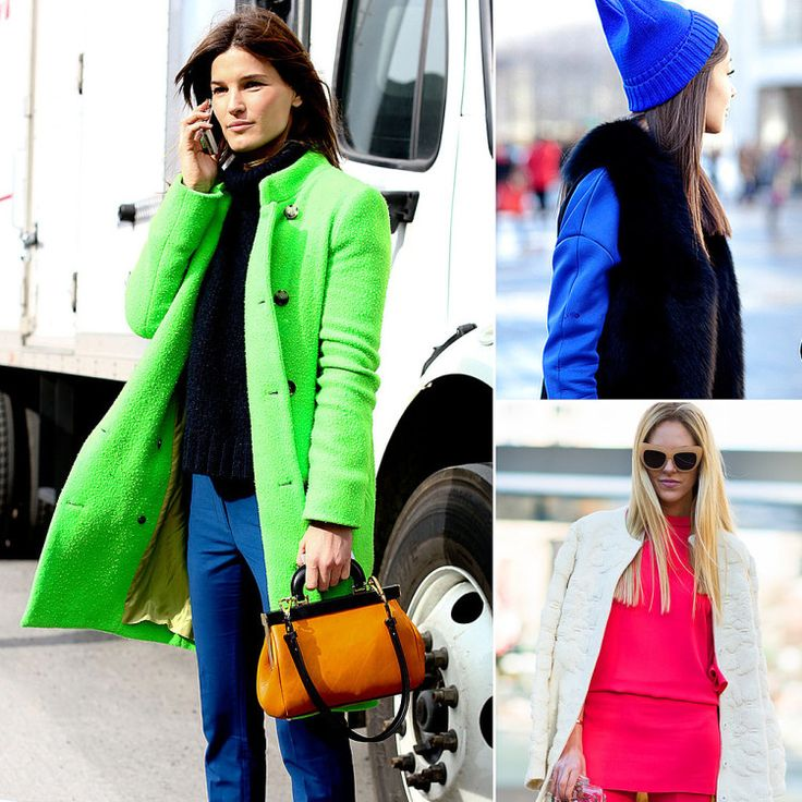 Bright Street Style Outfits Fashion Week Fall - pictures, photos, images