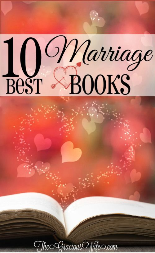 10 Best Marriage Books - Love these! These books have great marriage advice for solving problems and keeping a happy marriage! Awesome for marriage advice, marriage tips, marriage problems, marriage humor, Christian marriage, and MORE
