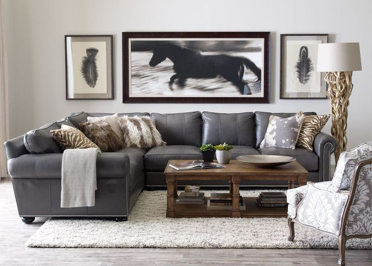 Best 25+ Leather sectionals ideas only on Pinterest   Leather ...