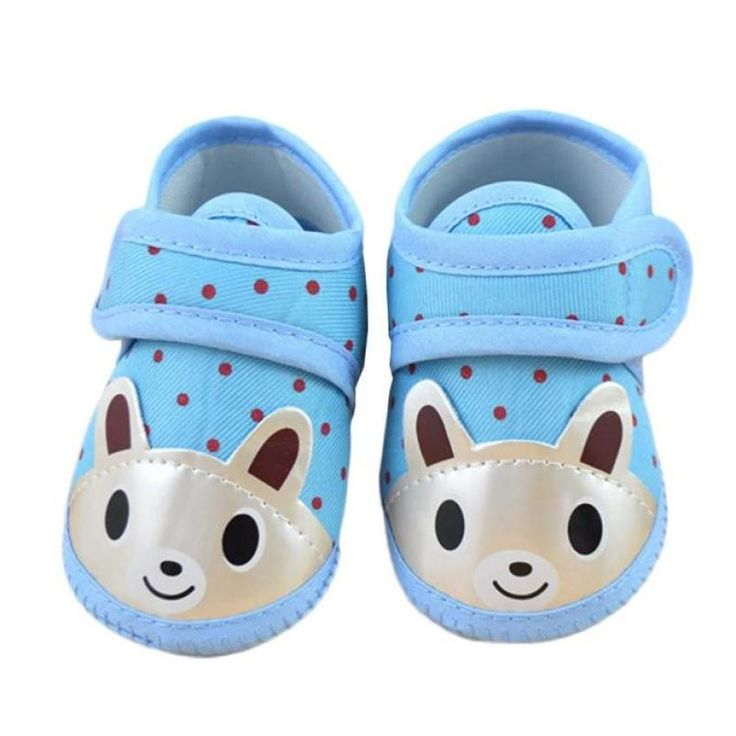 SIF Newborn Girl Boy Soft Sole Crib Toddler Shoes Canvas Sneaker API 06