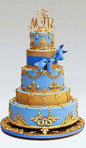gold wedding cakes gallery 31 best images about blue and gold theme on 14819