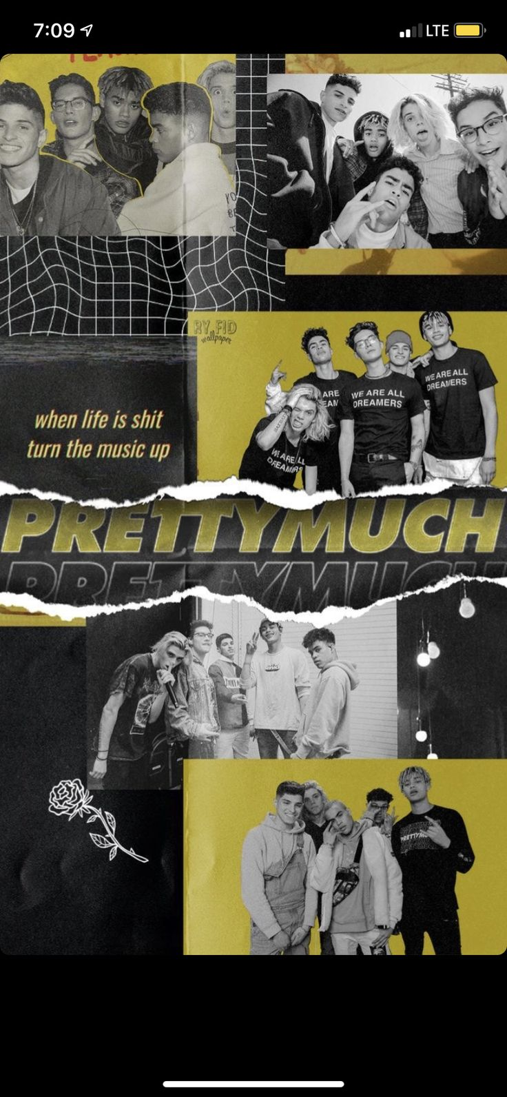 Pin by Tatianah Harmon on prettymuch Iphone wallpaper