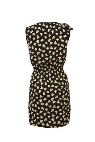 Shoulder Bow Floral Dress