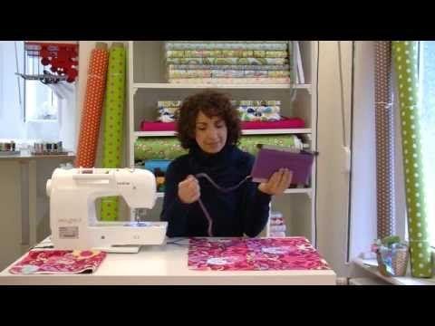 """▶ DaWanda Nähschule: """"Wie befestige ich eine Paspel?"""" - YouTube"""