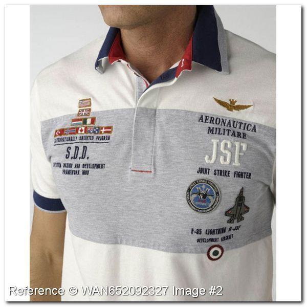 Aeronautica Militare Polo T-Shirt. Joint Strike Fighter JSF. KG227DE…
