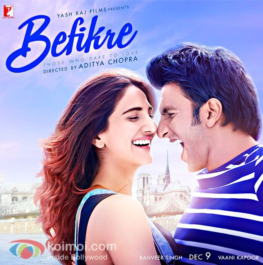 No Kissing For Ranveer Singh & Vaani Kapoor On Befikres New Poster
