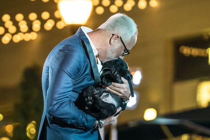 """E. Vincent Martinez & """"Puppy Vincent"""""""