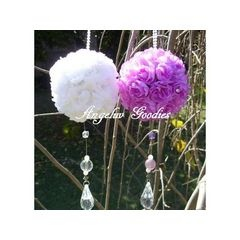 Wedding Decorations - Hanging rose balls for R40.00