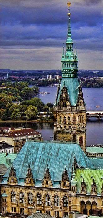 Hamburg, Germany @ Night