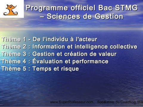 Sciences de gestion - Programme officiel de la classe de première STMG (Sciences et Technologies du Management et de la Gestion) et BAC STMG 2017 sur www.SuperProfessseur.com © Ronald Tintin http://superprofesseur.com/43.html   #EdTech #bacstmg #bac2017 #Tech #Marketing #Formation #business #Entreprise #DoGood #Socent #coursparticuliers #Entrepreneur #strategie #finance #gestion #management #ressourceshumaines #communication #ronaldtintin #btecemriche #superprofesseur #ronningagainstcancer…