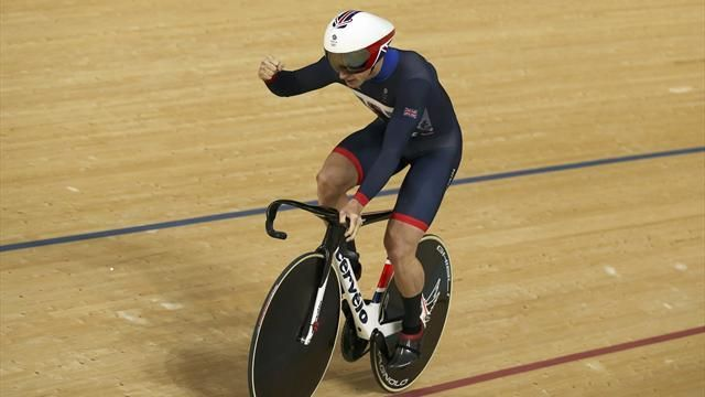 Olympics Rio 2016: Jason Kenny beats team-mate Callum Skinner to sprint gold - Rio 2016 - Cycling - Track - Eurosport