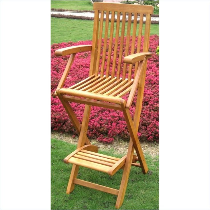 Royal Tahiti Outdoor Patio Folding Bar Stool (Set of 2) - TT-BC-007-2CH - Lowest price online on all Royal Tahiti Outdoor Patio Folding Bar Stool (Set of 2) - TT-BC-007-2CH