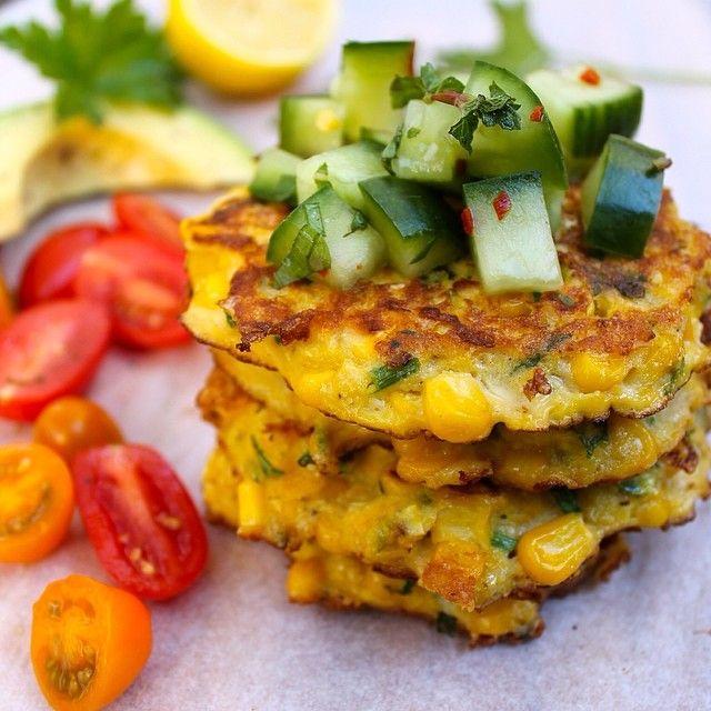 Gluten free corn fritters