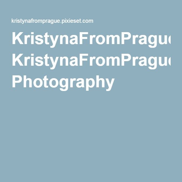 KristynaFromPrague Photography