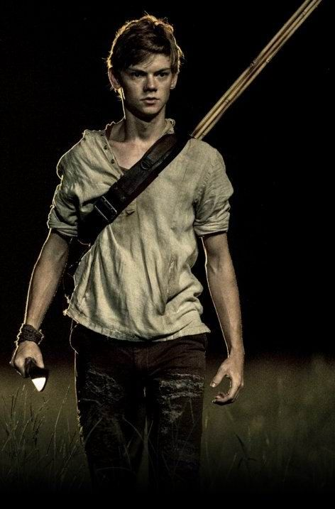 Newt & Thomas Sangster is like one of the few boys I fangirl over, but he's just awesome c: So excited for the movie XD