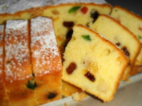"""Cream Cheese Fruitcake from """"My Baking & Cooking Passion"""" blog"""