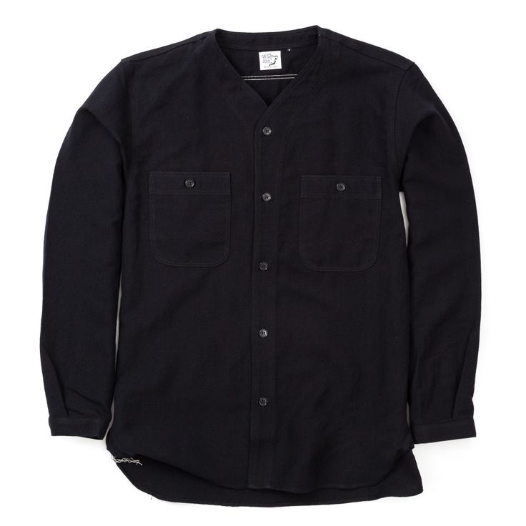 orSlow Linen Work Shirt