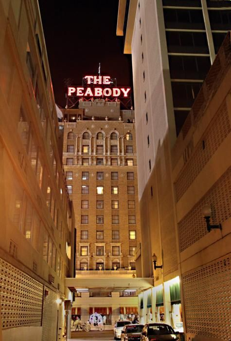 the Peabody hotel Memphis art print