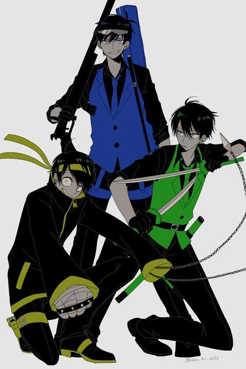 Karamatsu, Choromatsu & Jyushimatsu