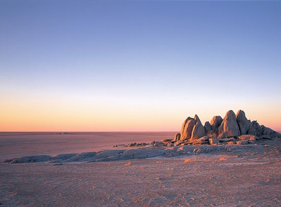 Salt Pans, Botswana