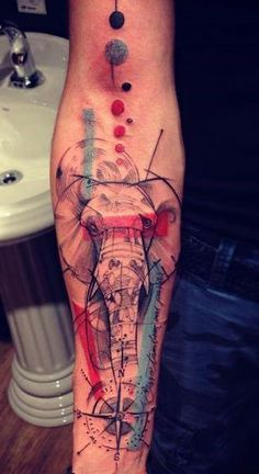 geometric abstract tattoo - Google Search