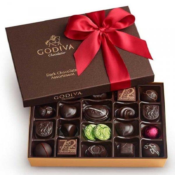 Dark Chocolate 27PC Gift Box by Godiva®