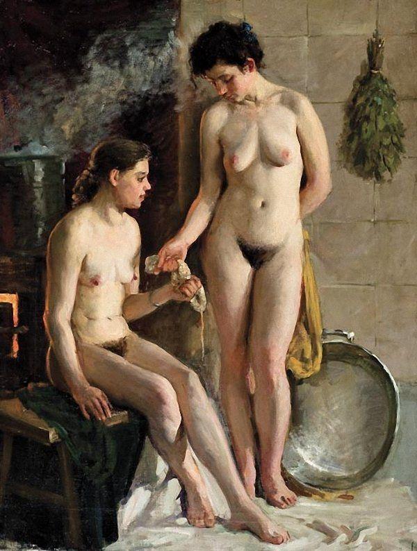 Сельская женская баня фото 744-209