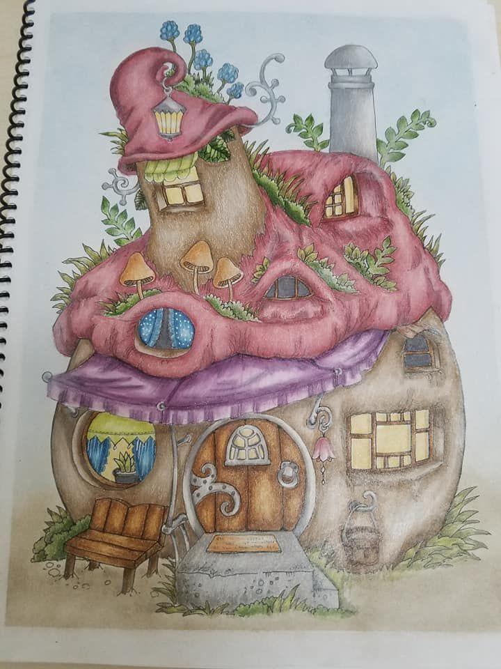 A Nice Little Town 1 Livro De Colorir Desenhos Para Colorir