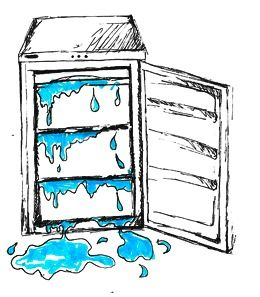How to keep a consistent fridge temperature.
