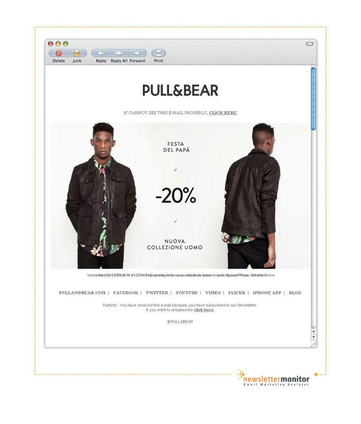 Brand: Pull&Bear | Subject: Pull&Bear: Festa del Papà, -20% Online