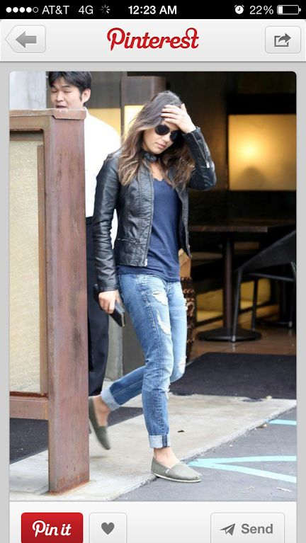 and again mila is spotted wearing toms spotted celebs