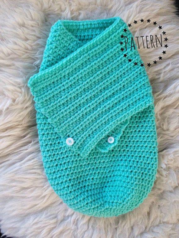 Crochet Swaddle Cocoon Blanket Pattern