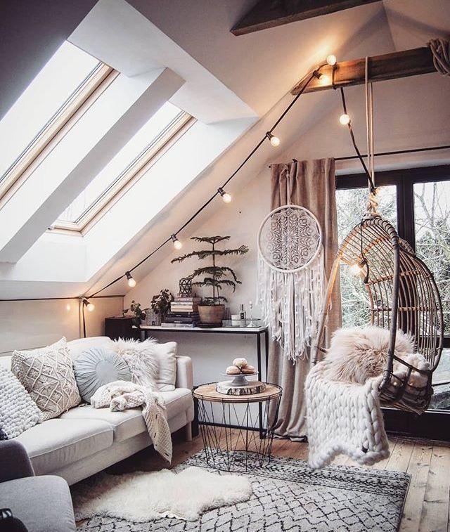 Salon Bohème et cosy #salonboheme #deco #homeswee…