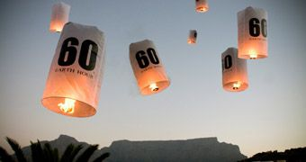 Earth Hour Wwf - Saturday 31st March, 8:30PM