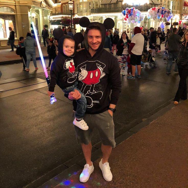 Sergey Lazarev & his son