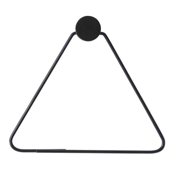 Black Toalettrullehållare - Ferm Living - Ferm Living - RoyalDesign.se