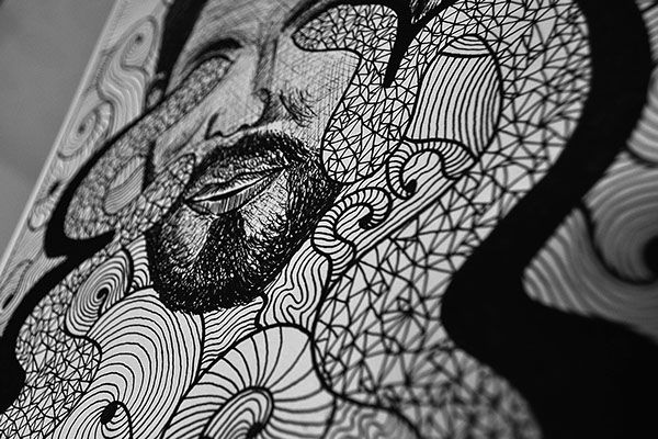 Self Portrait Illustration on Behance